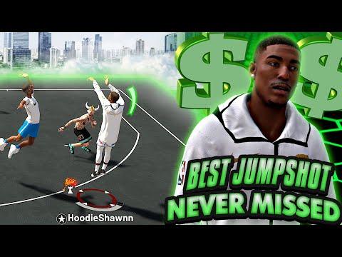 NBA 2K19 MyPARK - Best Jumpshot Got Me SHOOTING 100% EVERY GAME!!