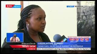 Second Annual Legislative Summit held in Mombasa to discuss failures and successes of devolution