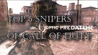 Top 5 Snipers of Call of Duty History