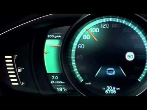 New Volvo V40 2012 - Active TFT Display at instrument cluster