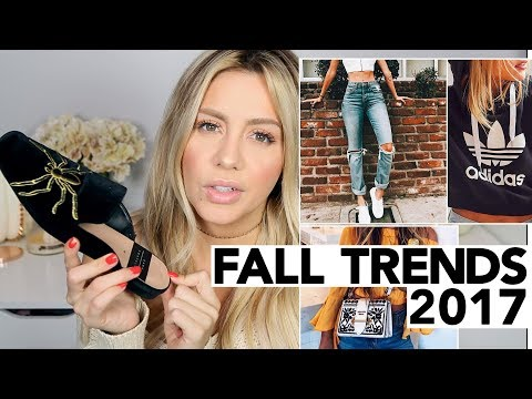 My Favorite Fall Trends 2017