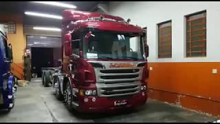 Scania P310 equipada pelo Charada - Club Scania