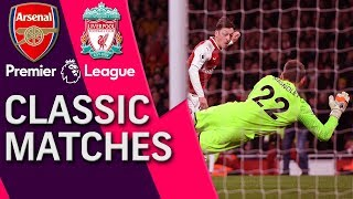 Arsenal v. Liverpool | PREMIER LEAGUE CLASSIC MATCH | 12/22/17 | NBC Sports