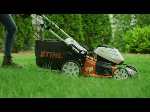 Stihl RMA 460 V 19 in. Self-Propelled w/ AK30 Battery & AL101 Charger in Philipsburg, Montana - Video 2