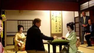 RARE FOOTAGE Japanese Drinking Games And Performances By Authentic Geishas