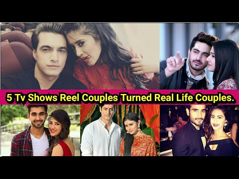 Top 5 Reel Life Couples Of Tv Shows Turned Real Life Couples || Kingdom Of TellyStars