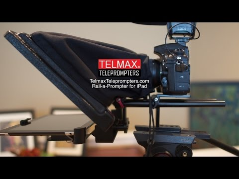 TelMax Teleprompter for iPad Giveaway Sub and Comment ***OVER***