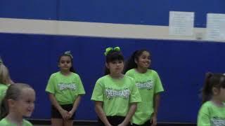 Bellalago Academy  Mini Mariner Cheerleaders Half-Time Show 2/7/2019