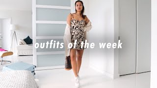 What I Wore Last Week | Easy, Thrift & Casual Outfit Ideas