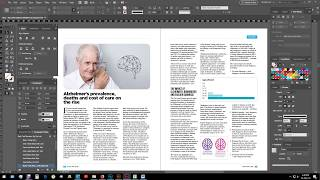 A Simple Magazine Layout Design In - Adobe InDesign