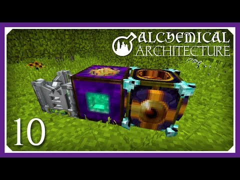 Alchemical Architecture   Starting Essentialcraft 4!   E10 (Magic Modpack Lets Play)