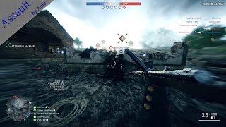 Battlefield 1 Closed Alpha - Assault Gameplay