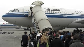 preview picture of video '國航知音Air China A330-200成都双流机场 / 拉萨贡嘎机场'