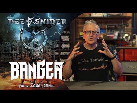 DEE SNIDER For the Love of Metal Album Review | Overkill Reviews