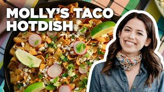 Molly Yehs Cheesy Taco Hotdish Recipe | Food Network