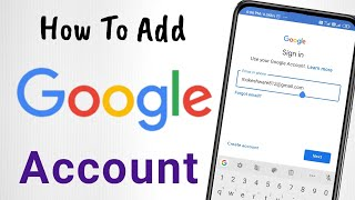 How To Add Another Google Account on Android | Add Email Account on Android | Sign in To Android