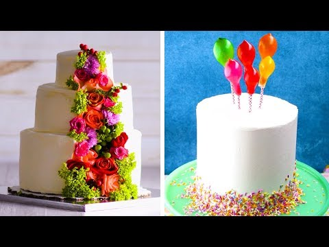 15 Amazing Cake Decoration Ideas to Impress Your Wedding Guests!! | Cake Tutorials by So Yummy