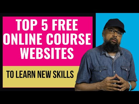Top 5 Free online Course Websites for Learning new Skills - YouTube