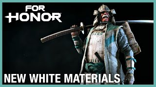 For Honor: New White Materials | Weekly Content Update: 11/07/2019 | Ubisoft [NA]