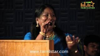Singer Chinna Ponnu at Hogenakkal Movie Audio Launch