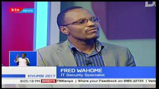 NASA leader Raila Odinga claims the IEBC systems have been hacked