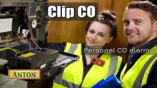 Personal carbon monoxide alarm: The Anton Clip CO. Why every heating engineer should have one!