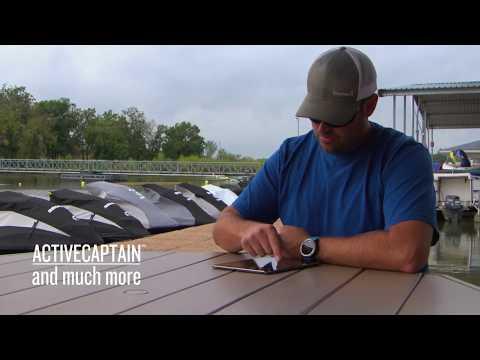 Garmin ECHOMAP Plus 72cv szonár videó