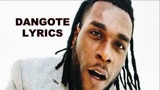Burna Boy   Dangote (lyrics)