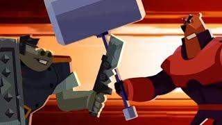 Собез - Средневековая битва -  Серия 11 - мультфильмы для детей