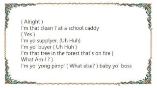 Chingy - Wurrs My Cash Clean Lyrics