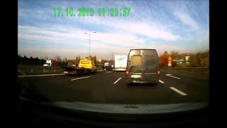 preview picture of video 'wypadek DTS Chorzów Świętochłowice'
