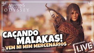 Assassin's Creed Odyssey - Caçando Mercenários   Rumo aos 10K !!!