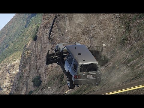 GTA 5 INCREDIBLE CAR CRASHES COMPILATION!!!