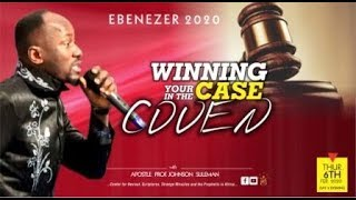 A Must Watch! WINNING YOUR CASE IN THE COVEN By Apostle Johnson Suleman (Ebenezer 2020 Day2 Morning)