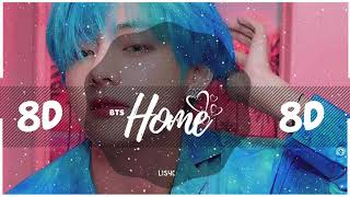 💜 [8D AUDIO] BTS - HOME   BASS BOOSTED   [USE HEADPHONES 🎧]  방탄소년단   PERSONA