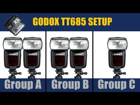 Godox Flash, How to set up TT685 and X1T for Sony