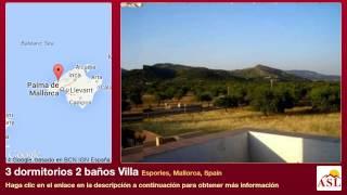 preview picture of video '3 dormitorios 2 baños Villa se Vende en Esporles, Mallorca, Spain'