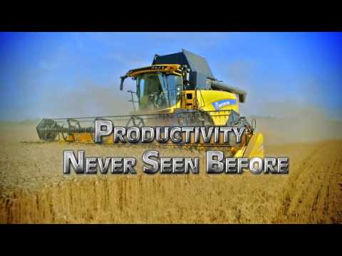 #FutureFields – New Holland CX7 & CX8 are here!