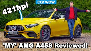 [carwow] See what my girlfriend and I think of my new daily driver... The AMG A45 S!