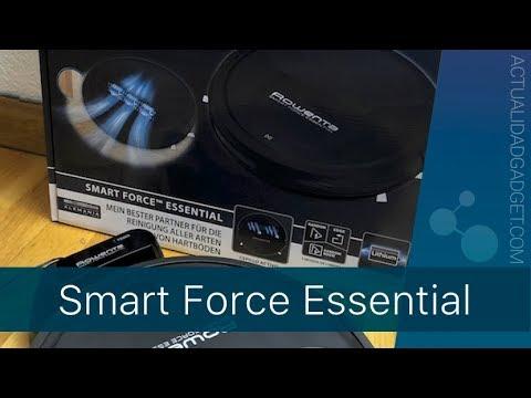 Rowenta Smart Force Essential - Pruebas y análisis del robot aspirador