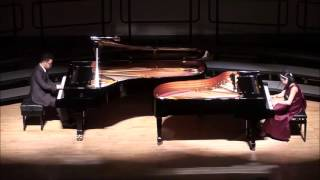 Piano Duo - Danse Macabre Op.40 (Saint-Saens)- Frederic Lee and Sydney Hsueh