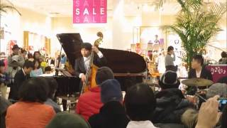 風の通り道~となりのトトロ~ ジブリジャズアレンジ ピアノトリオJAZZ LIVE