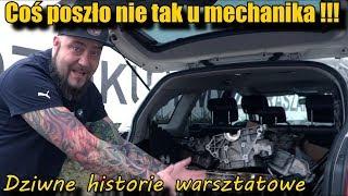 Tego jeszcze nie było -Coś poszło nie tak u mechanika !!! Dziwne historie warsztatowe.