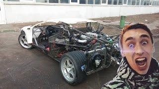 Илья Стрекаловский в шоке(если бы увидел) от реплики Lamborghini с V12 от bmw750 e32