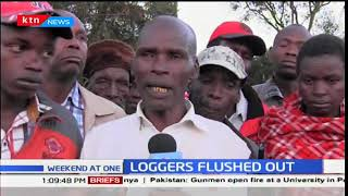 Forest Conservationists and residents flash out loggers at Suget forest-Kipkelion East