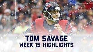 Tom Savage Leads Amazing Comeback! | Jaguars vs. Texans | NFL Week 15 Player Highlights