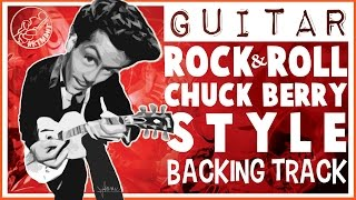 Chuck Berry Style Rock and Roll Backing Track