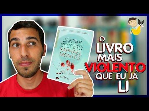 DISCUTINDO SOBRE JANTAR SECRETO, RAPHAEL MONTES (sem spoiler) | Livraria em Casa