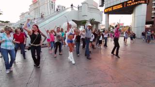 Kelsie & Nathan's Country Proposal Flash Mob 72413 Las Vegas