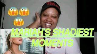 Mariah Carey's Shadiest Diva Moments REACTION